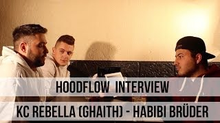 """KC Rebella (Ghaith """"Habibi Brüder"""") über """"Selber ein Album"""", Schulzeit, Studium (HOODFLOW.TV)"""