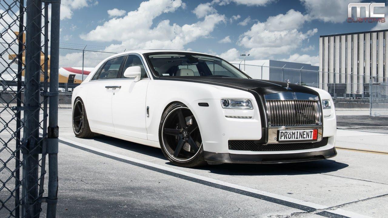 Rolls Royce Miami >> MC Customs | Rolls-Royce Ghost · Vellano Wheels - YouTube