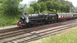Bluebell Railway Food Festival (2nd July 2016) Horsted Keynes
