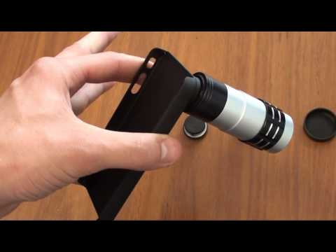 4 in 1 iPhone lens Kit - eStore.com.au Video Demonstration
