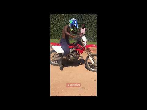 Motorbike trick fail