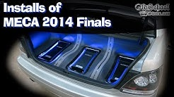 MECA 2014 Finals Car Audio Installs SQ SPL and Old School
