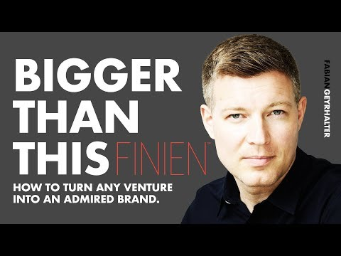 🔴 5 Ways To Turn Any Business Into An Admired Brand w/ Fabian Geyrhalter