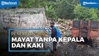 Geger Penemuan Potongan Tubuh Diduga Korban Mutilasi Di Saluran Irigasi Di Kalimalang, Bekasi