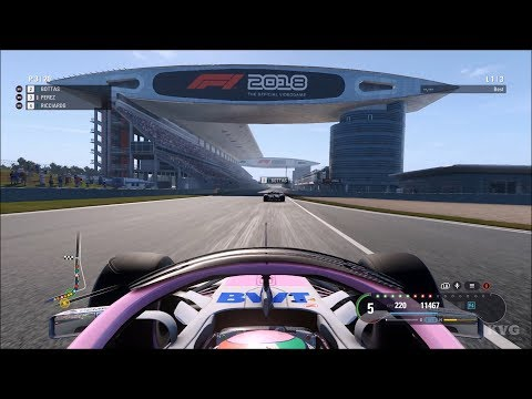 F1 2018 - Shanghai International Circuit (Chinese GP) - Gameplay (PC HD) [1080p60FPS]