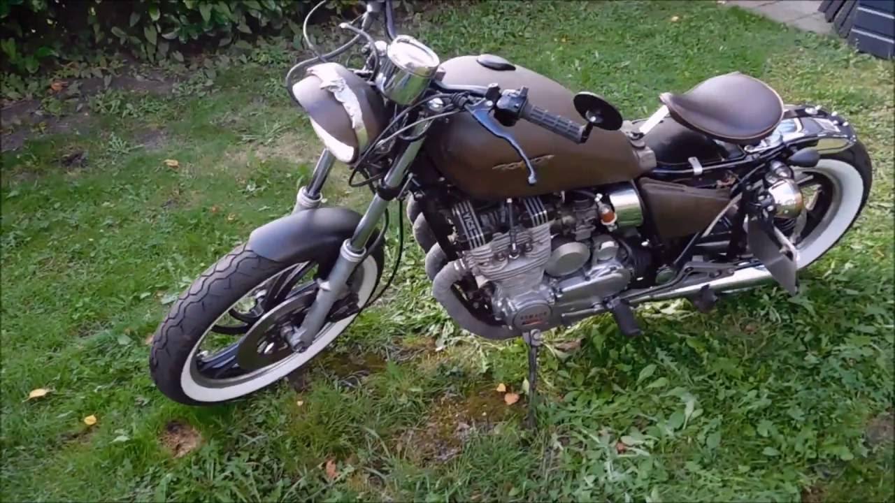 Yamaha XJ 650 Maxim Bobber