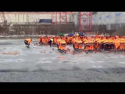 Мурманск фирма Saren утренняя зарядка
