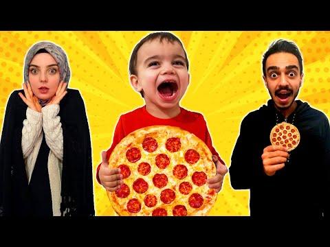 Yağız Pizza Siparişi Verdi - Çocuk Videosu YED SHOW