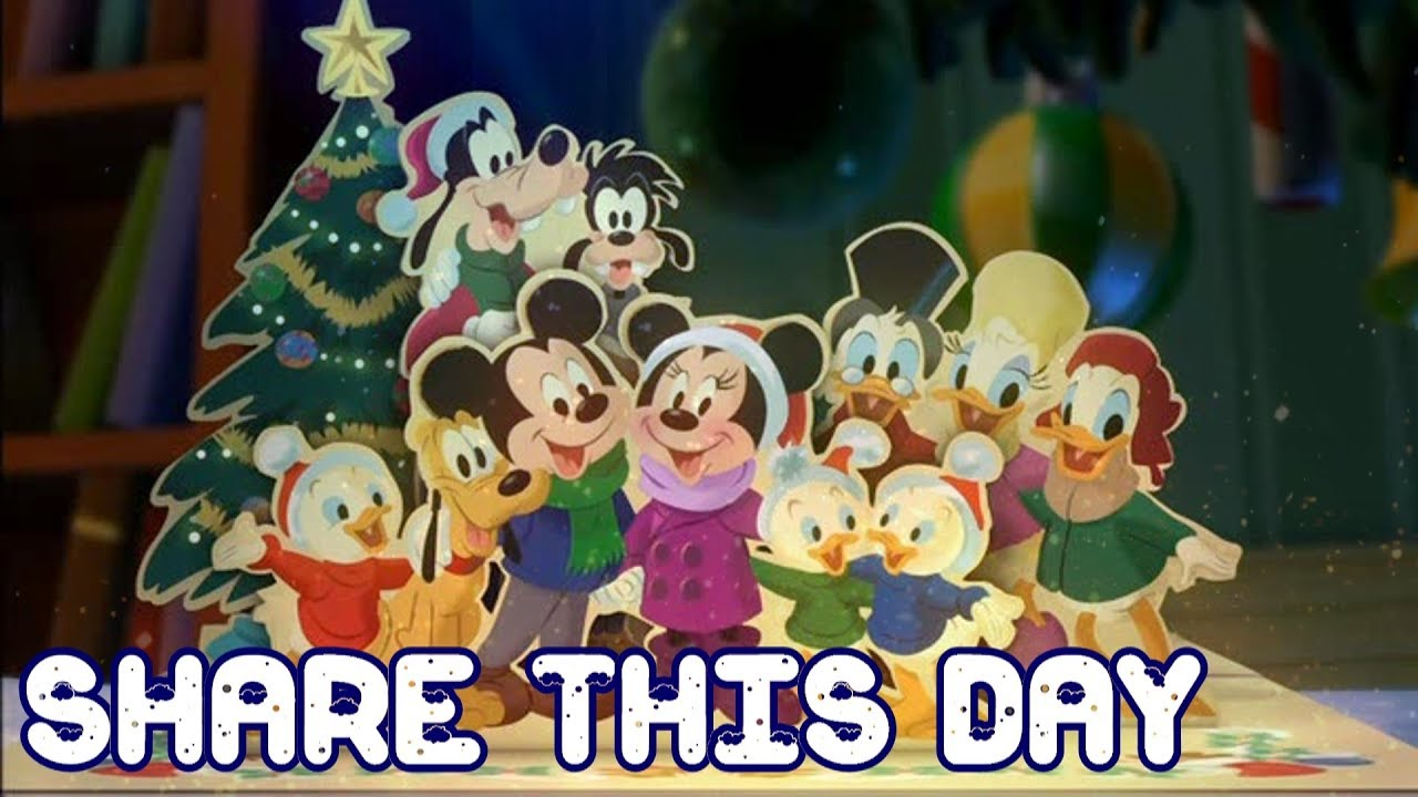 Mickey Mouse Twice Upon A Christmas.Share This Day Lyrics Mickey Twice Upon Christmas Amv