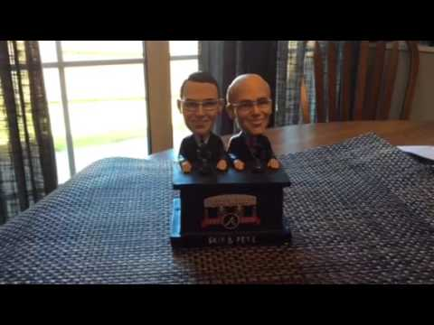 Skip and Pete Bobbleheads