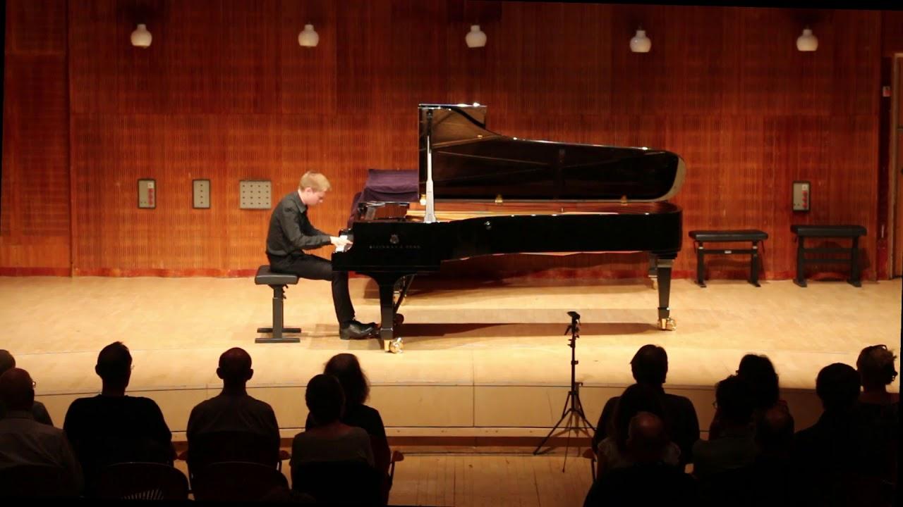 N. Kapustin: Piano Sonata no. 6 - Francesco Barfoed