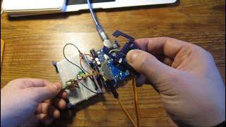 Курс по Робототехнике - Урок 8 Ручное управление сервоприводом