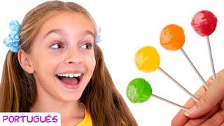 Você gosta de pirulito de abacate   Canção infantil de Sunny Kids Songs