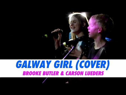 Brooke Butler and Carson Lueders - Galway Girl (LIVE Cover)
