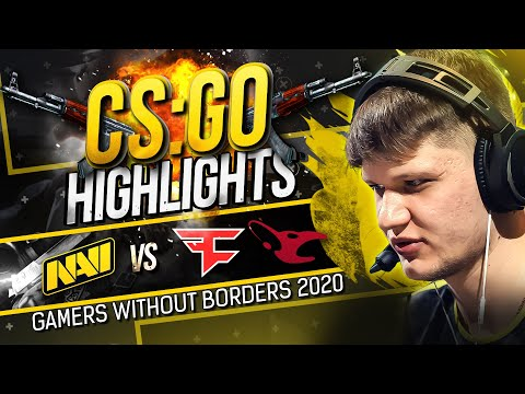 NAVI Делают Обидно Mousesports и FaZe на Gamers Without Borders 2020