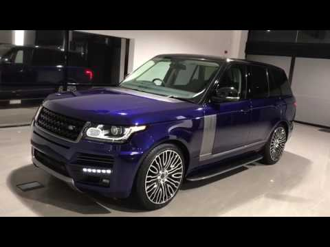 land rover range rover vogue se custom bali blue 2017 body. Black Bedroom Furniture Sets. Home Design Ideas