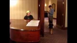 Two Homestuck musicians walk into a piano. (Jit/Toby impromptu performance)