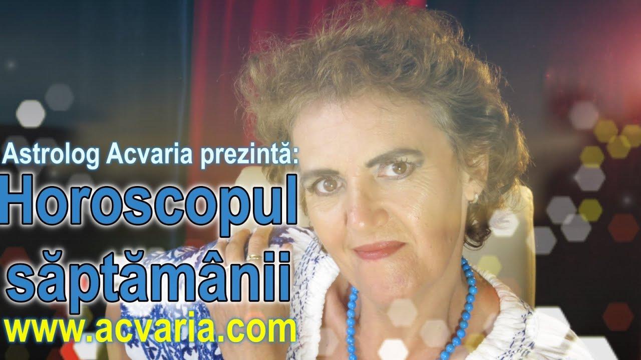 Horoscopul saptamanii 20-26 IULIE 2020 * Astrolog Acvaria
