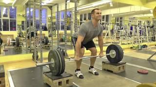 "#Тяжелая атлетика""Подьем на грудь с плинтов""Weightlifting"