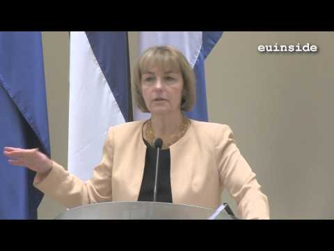 Vesna Pusic on European elections in Croatia