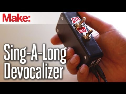 Sing-a-long Song Devocalizer