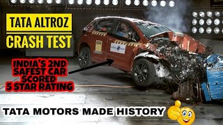 Tata Altroz?? Scores 5 stars⭐⭐ in Global NCAP Crash Test | #SafecarsforIndia | PR Moto Vlogs