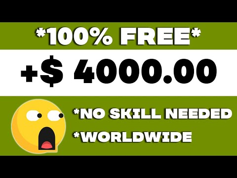 Earn $4,000 In PayPal Money From A New Site (Make Money Online 2021)
