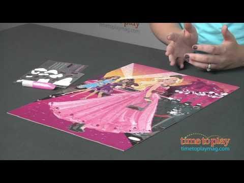 Barbie Bling Out Fashion Puzzle from Cardinal Games