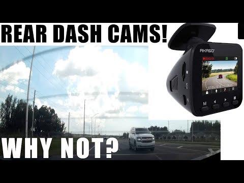 YOU MIGHT WANT A REAR DASH CAM | Akaso Dash Cam V1