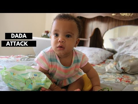 SHE SAID HER FIRST WORD!!  || Following M&T - Duur: 8:22.