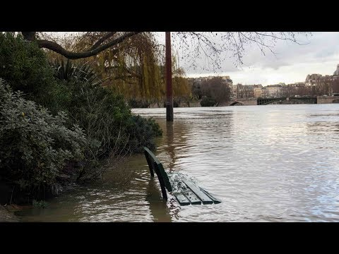 River Seine keeps swelling in Paris, threatens to overflow its banks