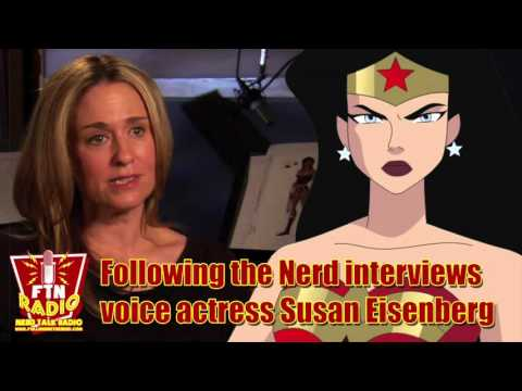 FTN Interviews Susan Eisenberg, the voice of Wonder Woman and more