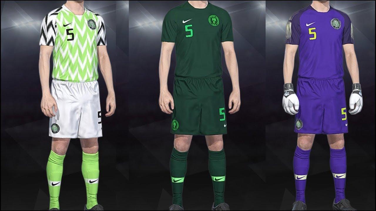 47624d20da9 PES 2018 - Kits Nigeria World Cup 2018 PS4