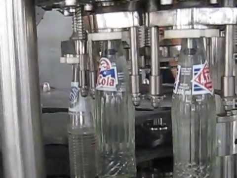 Automatic Glass Bottle Filling Machine Youtube