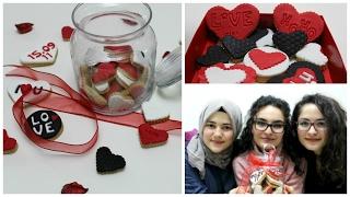 Sevgililer Günü İçin Kurabiye Yapımı || Valentine's Day Cookies
