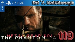 Metal Gear Solid V: The Phantom Pain 100% Walkthrough Part 119 - Side Op 90, 145 (All Collectibles)