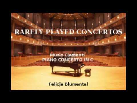Clementi, Concerto in C/Felicja Blumental