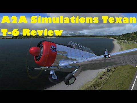 A2A Simulations Texan T-6 - A detailed review - FSX/P3D - Flying from  EGHI Southampton