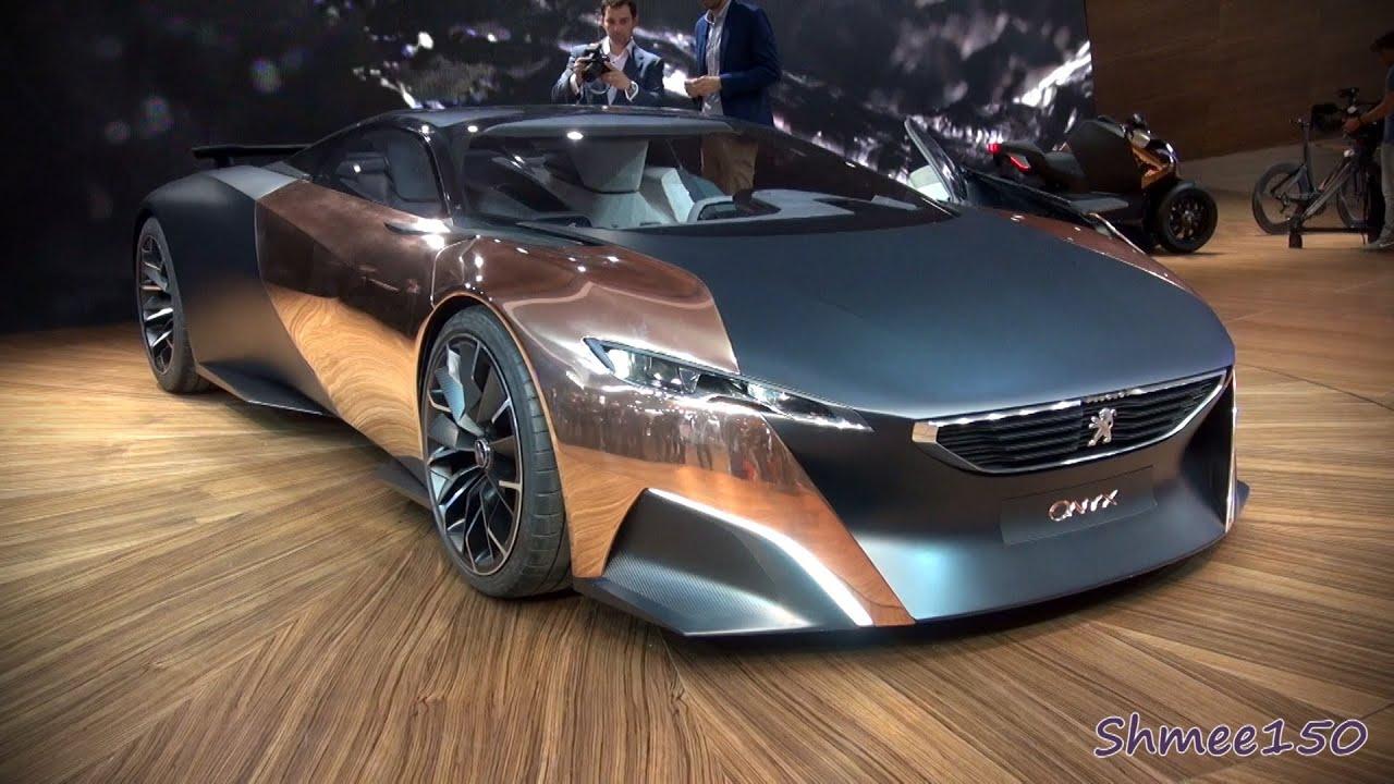 peugeot onyx supercar concept - world premiere at paris 2012 - youtube
