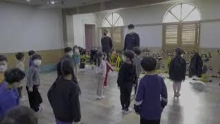 유아체육/수업준비/준비운동/앞구르기/접시콘활용달리기