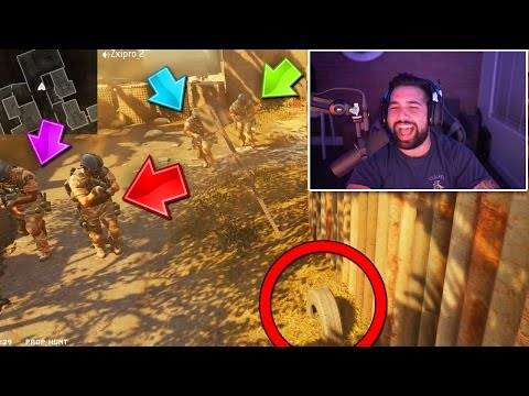 THEY DIDNT SEE ME!! Call of Duty PROP HUNT