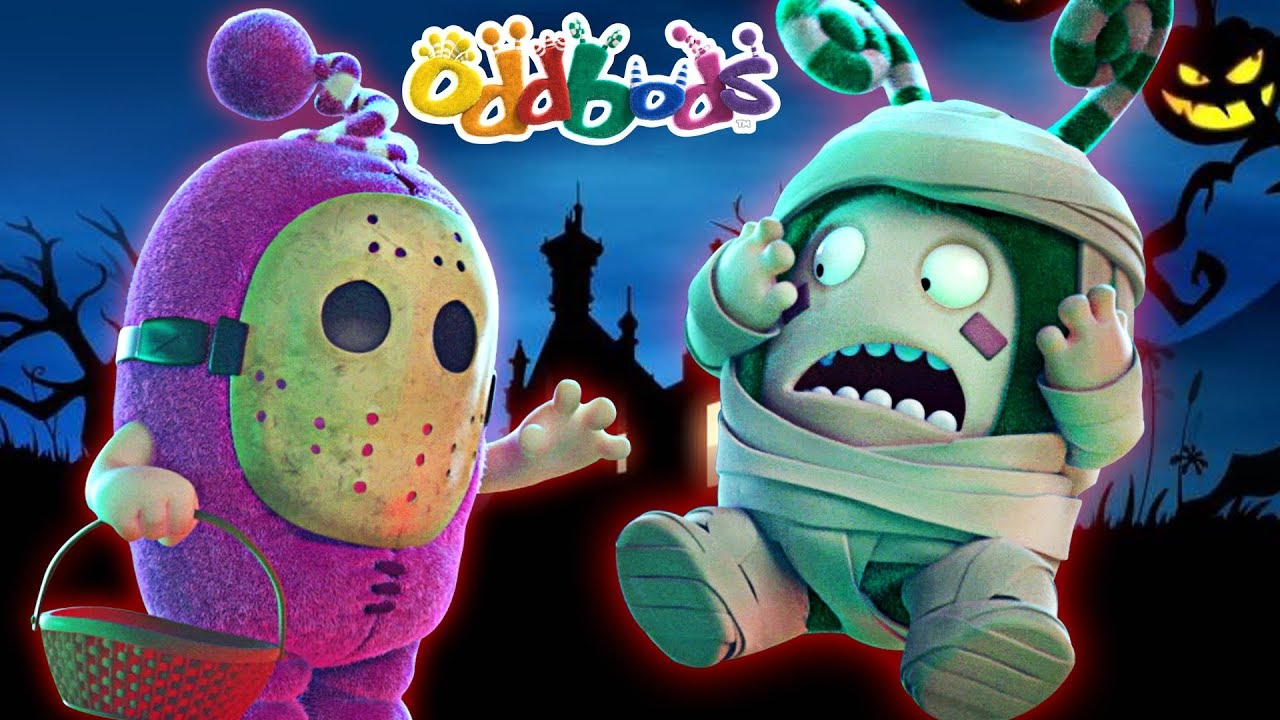 Oddbods | Walking Dead Zombies | Halloween Special Cartoons | Funny Cartoons For Children