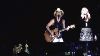 Kenny Chesney and Miranda Lambert  You and Tequila make me crazy Live 2016 Auburn, Al
