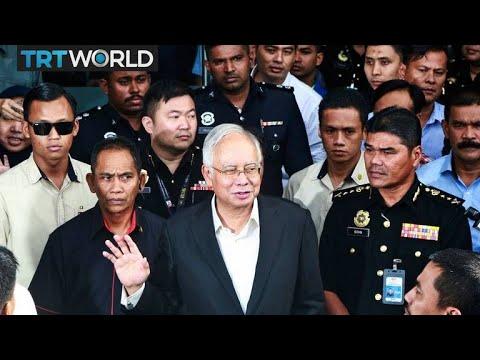 Former Malaysian PM