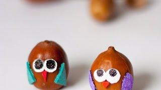 Make Adorable Acorn Mini Characters - Diy Crafts - Guidecentral