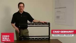 SmartMount® Full-Service Video Wall Mount Installation Video