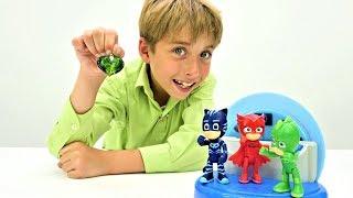 Видео для детей. Герои в масках потеряли свои способности!