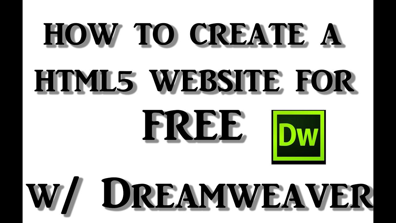 Free templates for dreamweaver cs5.