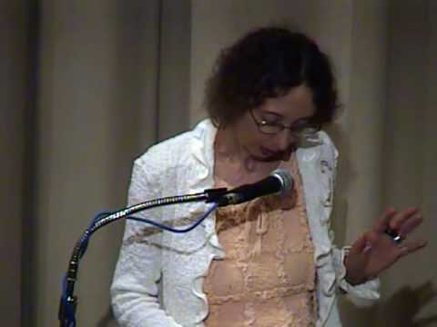 """Joyce Carol Oates reads """"Pumpkin Head"""""""