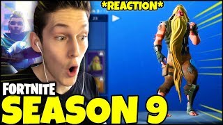 "👉THE PASS BATTLE of SEASON 9 is PAZZESCO..... Maybe! 🤩🤩 FORTNITE ITA ""REACTION"" ""New Map"""
